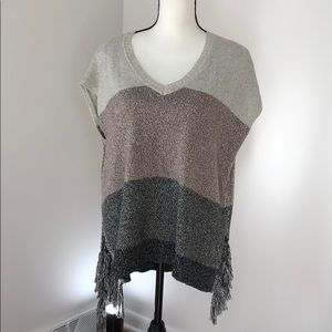 Anthoropologie, Lisa Todd Poncho Sweater, Small